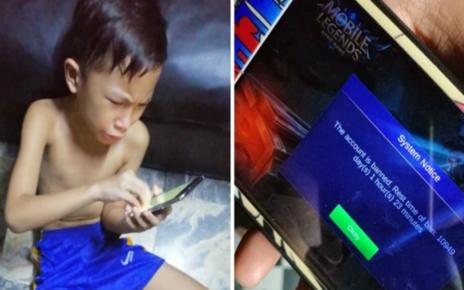 Akun Mobile Legend Diblokir Sampai 30 Tahun, Bocah Ini Viral