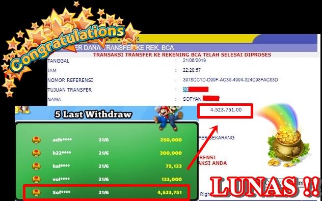 Info Kemenangan Di Situs MarioQQ Yang Terpercaya