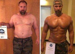 Sayang Anak, Pria Gemuk Ini Diet dalam 5 Bulan Turunkan Berat Badan 41 Kg