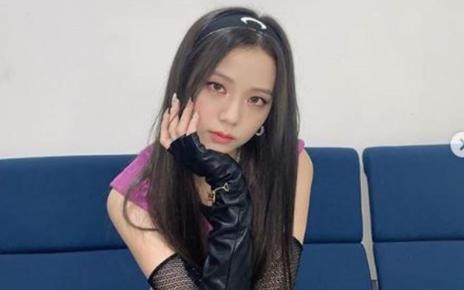 Ikat Kepala Jisoo Dijadikan Rose Sebagai Pengikat Pinggang