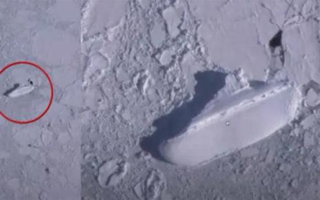 Viral Seorang Youtuber Menemukan Objek Kapal Di Antartika