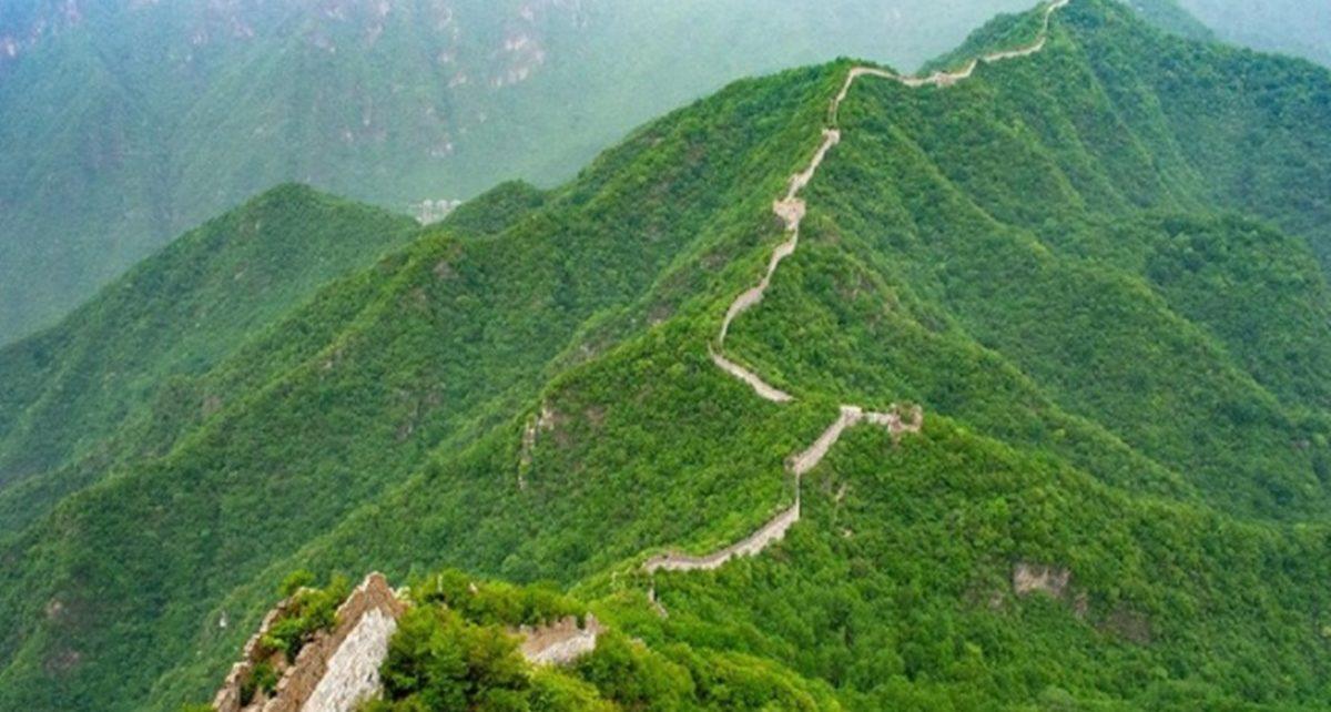 Sisi Terpencil Tembok China yang Berbahaya