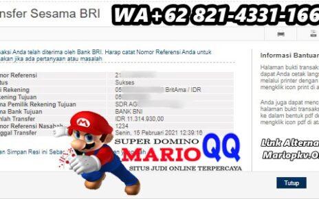 Kemenangan Terbaik Di Situs MarioQQ