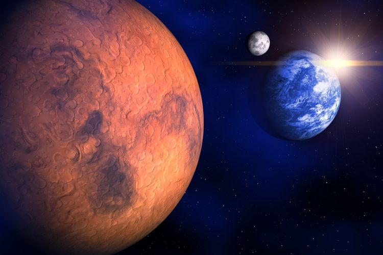 NASA Terbangkan Helikopter di Mars untuk Pertama Kalinya