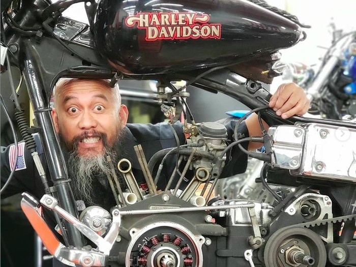Boyke Soerianata Menyandang Predikat Master Technnician Harley