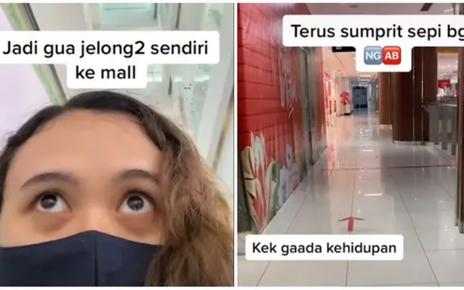 Cerita Wanita Sendirian ke Mall saat Sepi Pengunjung Ini Bikin Merinding