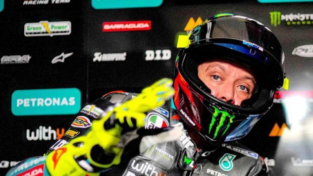 Penyebab Rossi Jatuh Di MotoGP Belanda 2021 Karena Roda Depan