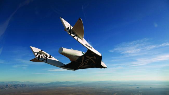 Pesawat Tur Antariksa Richard Branson SpaceShipTwo